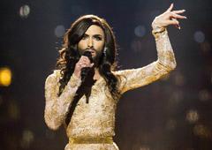 """Як Conchita Wurst тріумфувала на """"Євробаченні-2014"""". Фото"""