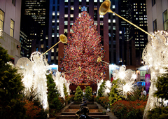 "Новорічна атмосфера в Нью Йорку. Ексклюзив ""ТелеПростора"""
